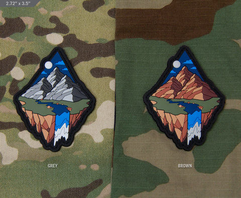 MOUNTAIN DIAMOND 1 MORALE PATCH - Tactical Outfitters