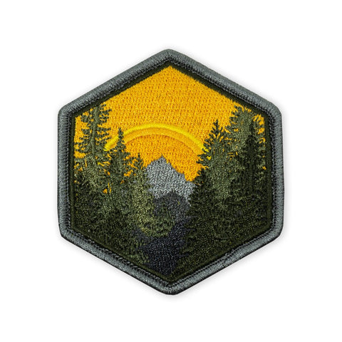 PDW Wilderness Sunset Morale Patch - Tactical Outfitters