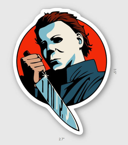 Michael Myers Sticker - Tactical Outfitters