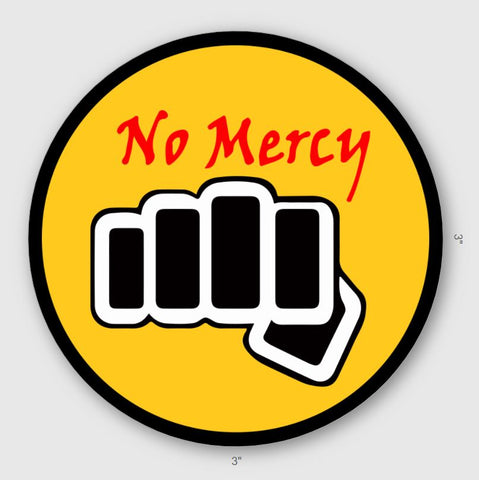 COBRA KAI - NO MERCY STICKER - Tactical Outfitters