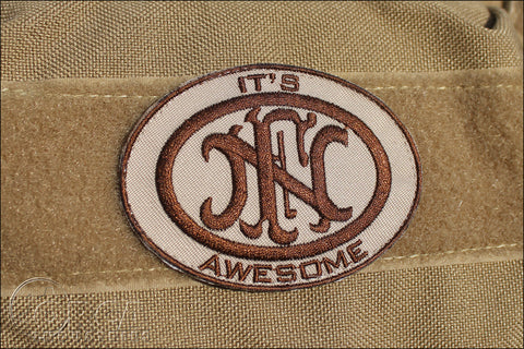 FN AWESOME MORALE PATCH - Tactical Outfitters