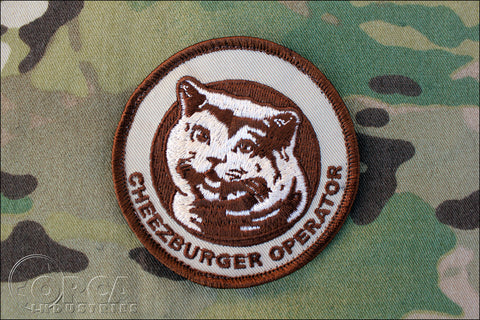 Cheezburger Operator Morale Patch - Tactical Outfitters