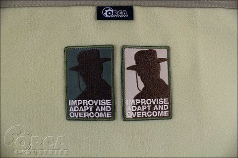 HEARTBREAK RIDGE - IMPROVISE MORALE PATCH - Tactical Outfitters