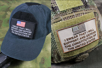 CITIZEN'S OATH MORALE PATCH - Tactical Outfitters