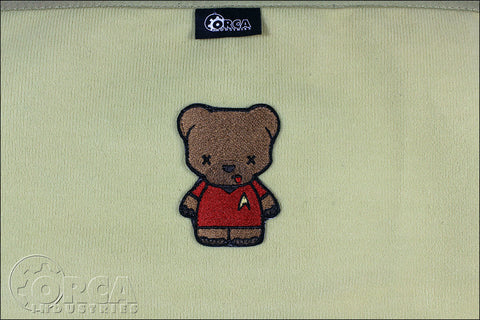 KUMA KORPS - STARFLEET - RED SHIRT MORALE PATCH - Tactical Outfitters