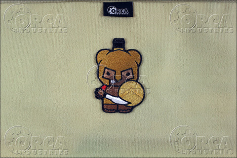 Kuma Korps Spartan Bear Morale Patch - Tactical Outfitters