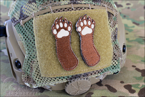 RIGHT TWO BEAR ARMS - MORALE PATCH SET - Tactical Outfitters