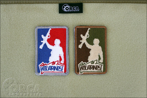 Red Dawn Wolverines Morale Patch - Tactical Outfitters