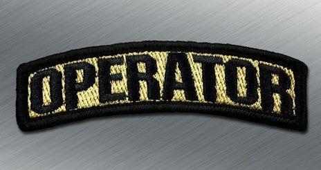 OPERATOR MORALE PATCH TAB - Tactical Outfitters