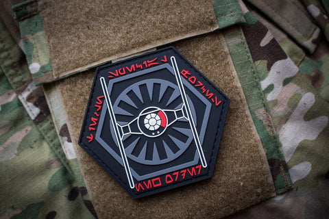 New Order Tie Fighter Squadron Morale Patch - Tactical Outfitters