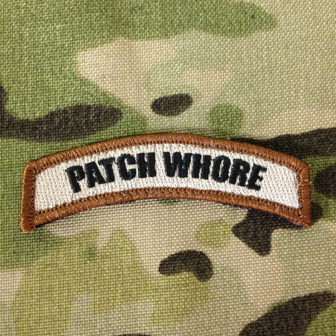 PATCH WHORE MORALE PATCH TAB - Tactical Outfitters