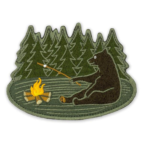 PDW Bear Camp Morale Patch - Tactical Outfitters