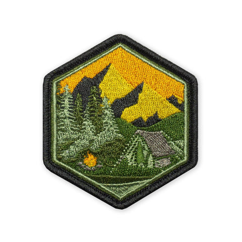 PDW Mountain Camp Sunset LTD ED Morale Patch - Tactical Outfitters