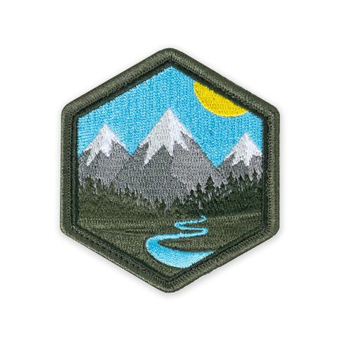 PDW Mountain Life Morale Patch - Tactical Outfitters