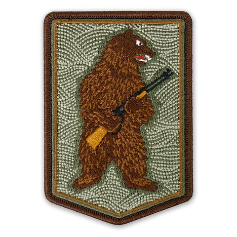 PDW The Right To Arm Bears Morale Patch - Tactical Outfitters