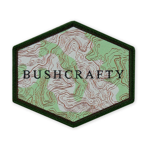 PDW Topographic BushCrafty LTD ED Morale Patch - Tactical Outfitters