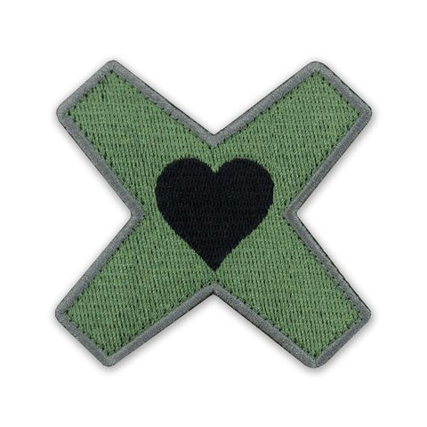 PDW Heart Marks The Spot V2 Morale Patch - Tactical Outfitters