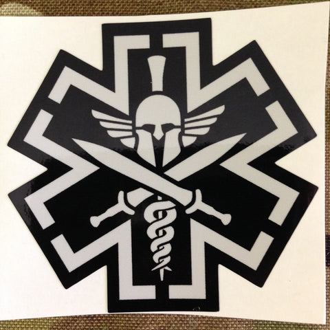 TacMed Spartan Decal - Tactical Outfitters