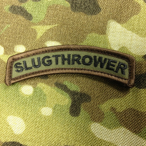 SLUGTHROWER MORALE PATCH TAB - Tactical Outfitters