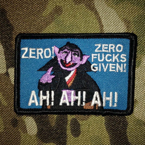 The Count Morale Patch - Tactical Outfitters