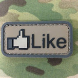 LIKE PVC MORALE PATCH - Tactical Outfitters