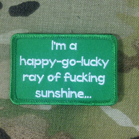 Happy Go Lucky Morale Patch - Tactical Outfitters