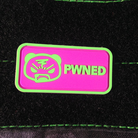 PWNED PVC Morale Patch - Tactical Outfitters