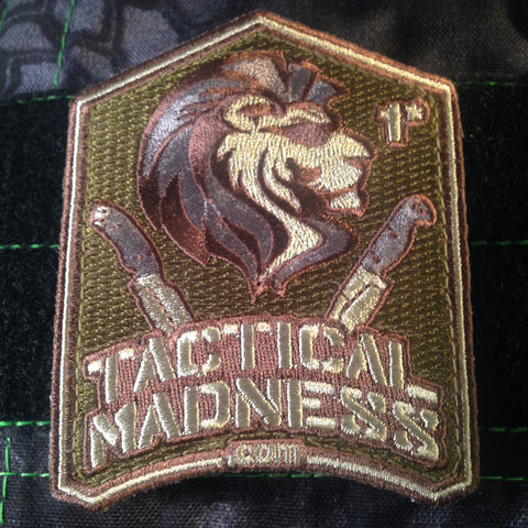Tactical Madness Logo Patch - Tactical Outfitters