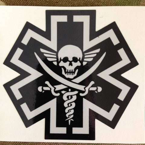 Tactical Medic Pirate Decal - Tactical Outfitters