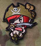 Pirate Girl Patch - Tactical Outfitters