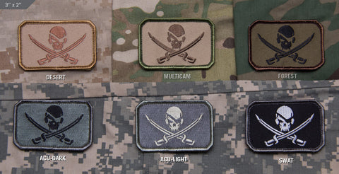 PIRATESKULL FLAG MORALE PATCH - Tactical Outfitters