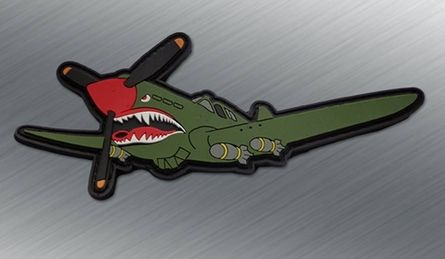 P40 Warhawk PVC Morale Patch - Tactical Outfitters
