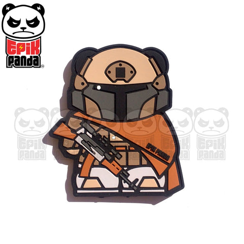 PMC PANDA DESERT TACTICAL PVC MORALE PATCH - Tactical Outfitters