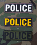 POLICE 6x2 PVC Patch - Tactical Outfitters