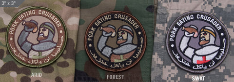 PORK EATING CRUSADER MORALE PATCH - Tactical Outfitters