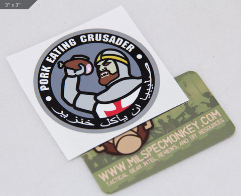 Pork-Crusader Decal - Tactical Outfitters