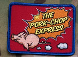 The Pork-Chop Express Morale Patch - Tactical Outfitters