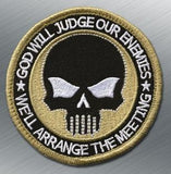 Punisher Judge Patch - Tactical Outfitters