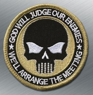 TACTICAL SKULL MORALE PATCH - Tactical Outfitters
