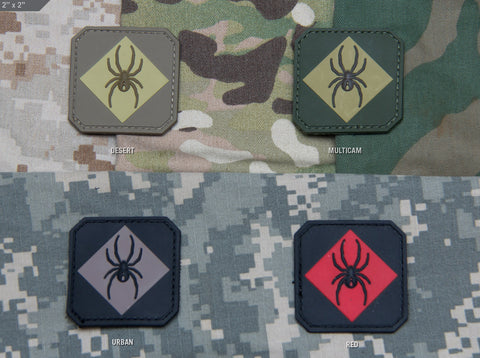 RedBackOne Logo PVC Patch - Tactical Outfitters