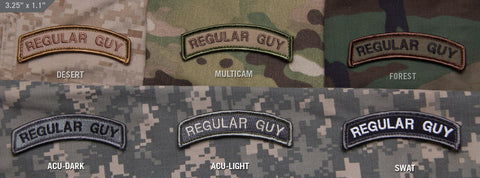 REGULAR GUY MORALE PATCH TAB - Tactical Outfitters