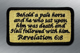 REVELATION 6:8 MORALE PATCH - Tactical Outfitters