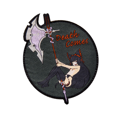DEATH COMES MORALE PATCH - Tactical Outfitters