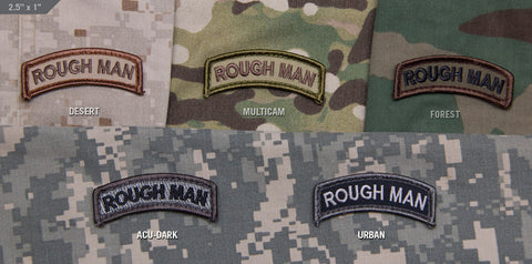 Rough Man Tab Patch - Tactical Outfitters