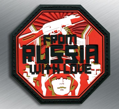 From Russia With Love PVC Patch - Tactical Outfitters