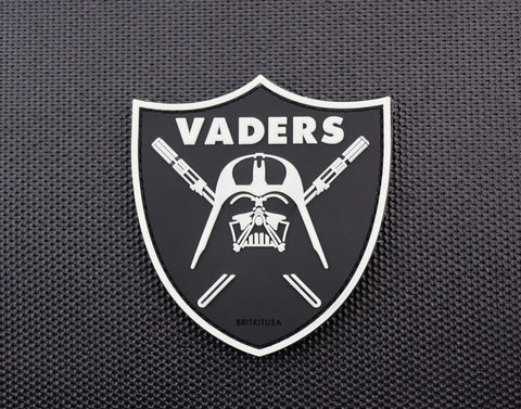 VADERS 3D PVC GITD MORALE PATCH - Tactical Outfitters