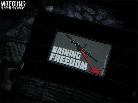 Raining Freedom PVC Patch - Tactical Outfitters