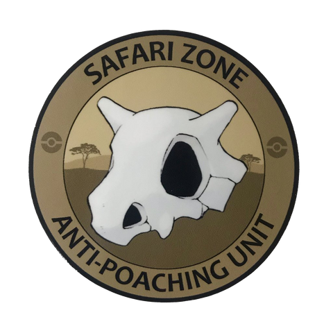 SAFARI ZONE ANTI POACHING UNIT STICKER - Tactical Outfitters