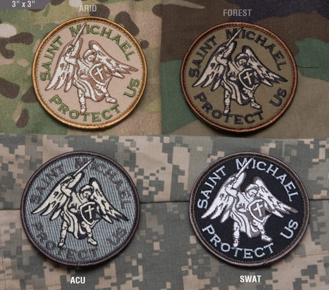Saint Michael Morale Patch - Tactical Outfitters