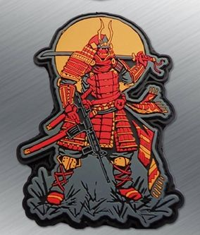 Samurai PVC Morale Patch - Tactical Outfitters